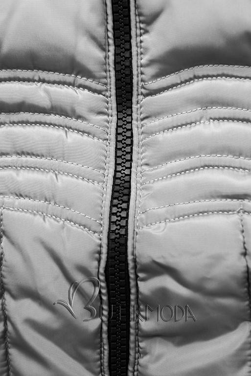 Winter Steppjacke FASHION grau