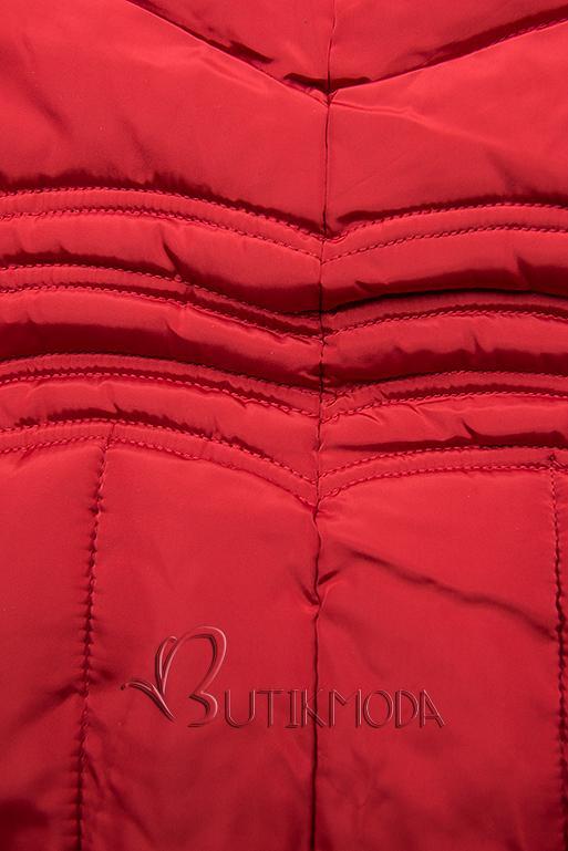 Winter Steppjacke FASHION rot