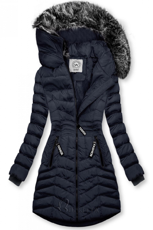 Winter Steppjacke FASHION dunkelblau
