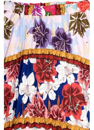 Maxirock mit Blumenprint II.