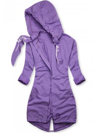 Tunika BE HAPPY violet