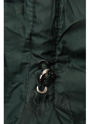 Gesteppte Jacke für Herbst/Winter grün