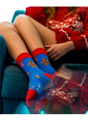 Socken Weihnachten Lebkuchen