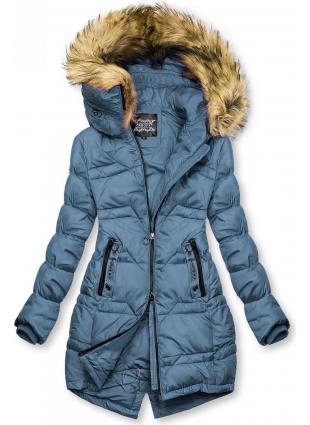 Gesteppte Jacke für Herbst/Winter jeansblau