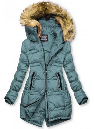 Gesteppte Jacke für Herbst/Winter minttürkis