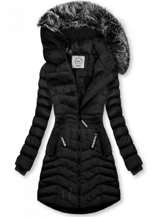 Winter Steppjacke FASHION schwarz