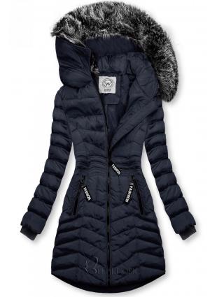 Winter Steppjacke FASHION dunkelblau