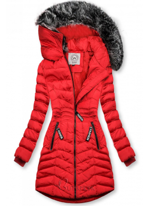 Winter Steppjacke FASHION rot