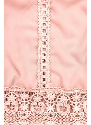 Spitzentop rosa