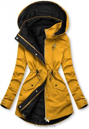 Übergangsjacke gelb/schwarz